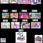 Generations of MLP 1-5