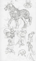 character drawing challenge 3 -Miara- by Scarlet-Harlequin-N