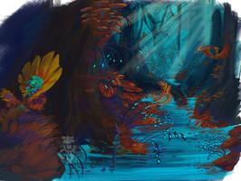 Hup Scenery sketch by Scarlet-Harlequin-N