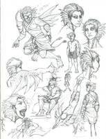 Commission Sarr by Scarlet-Harlequin-N