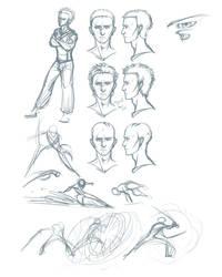 Leo doodles by Scarlet-Harlequin-N