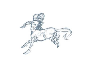Centaur Charnoor by Scarlet-Harlequin-N