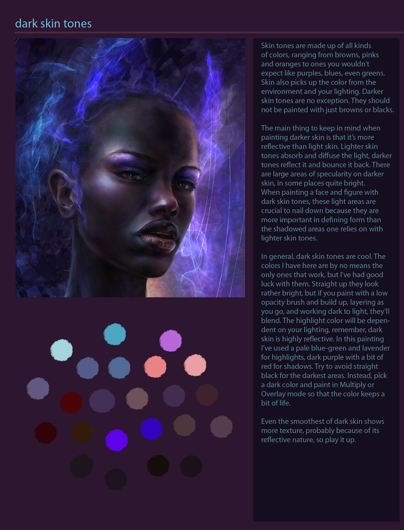 Darkest Skin Tone dark skin tone ...