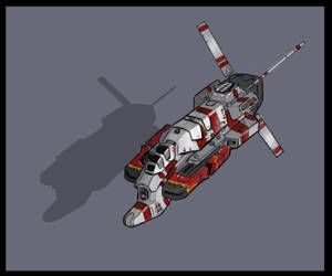 Taiidan-Vaygr laser corvette by Talros