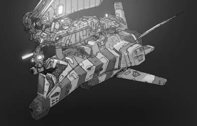 Docked interceptor