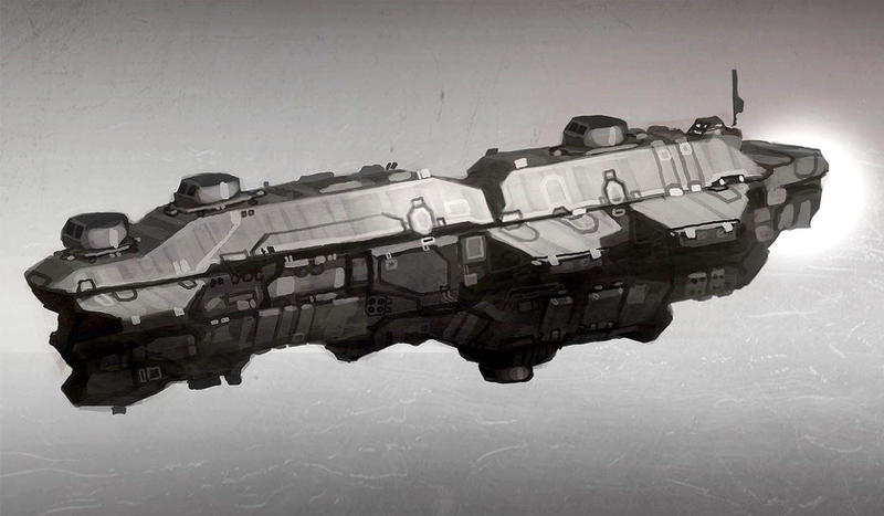 Destroyer Concept by Talros