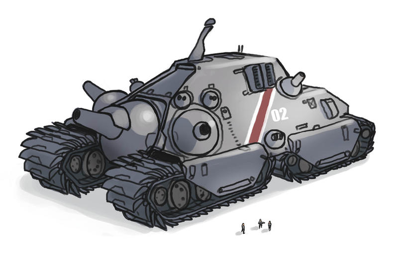 BOLO Tank Redesign By Talros On DeviantArt