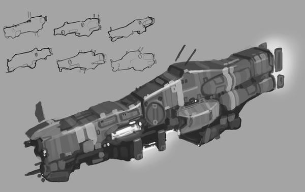 Titan-Naam Carrier concept by Talros
