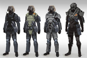 TS Troop concepts by Talros