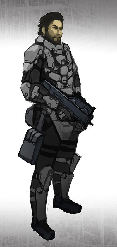 John Doe suit concept by Talros