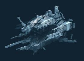 Ship sketch_Arius by Talros