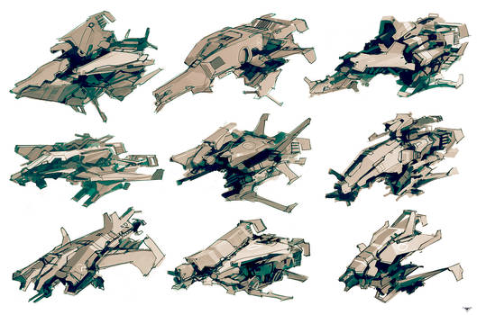 Ship sketches 02