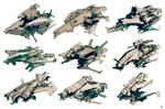 Ship sketches 02