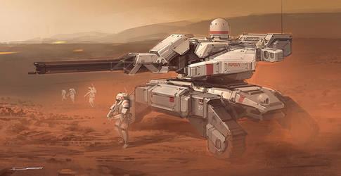 Mars tank SP by Talros