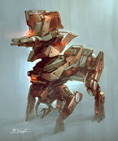 Heavy NPC concept #1 by Talros