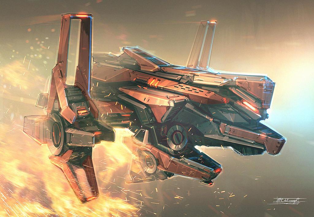 Heavy NPC concept #3 by Talros