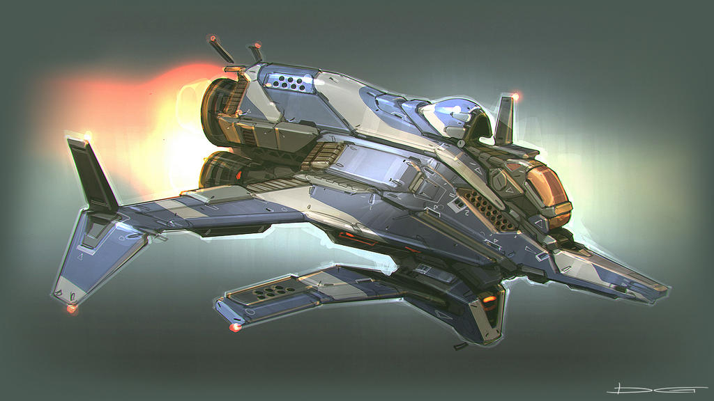 QR Racer concept 02 by Talros