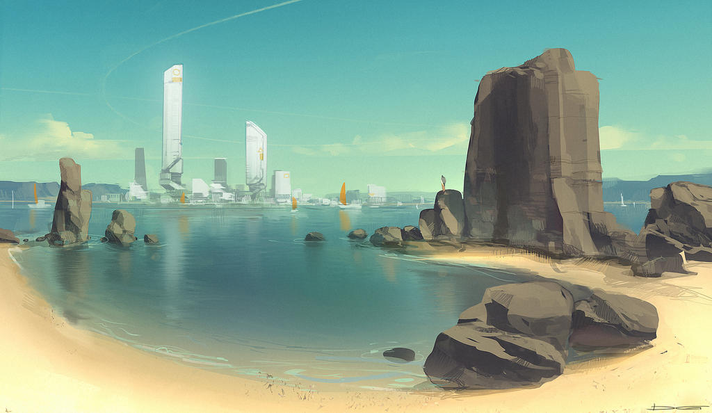 QR Coast Environment by Talros