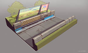 QR Road Design by Talros