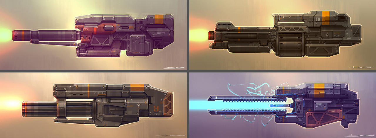 QR Weapons 02 by Talros