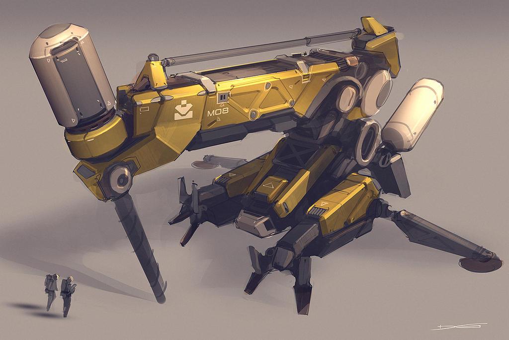 QR Drill Unit 01 by Talros