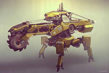 QR Drill Unit 02 by Talros