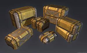 QR 3d Crates #1 by Talros