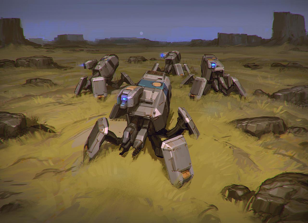 WZ Protector Drones by Talros