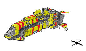 Taiidan Multi Firelance Frigat by Talros
