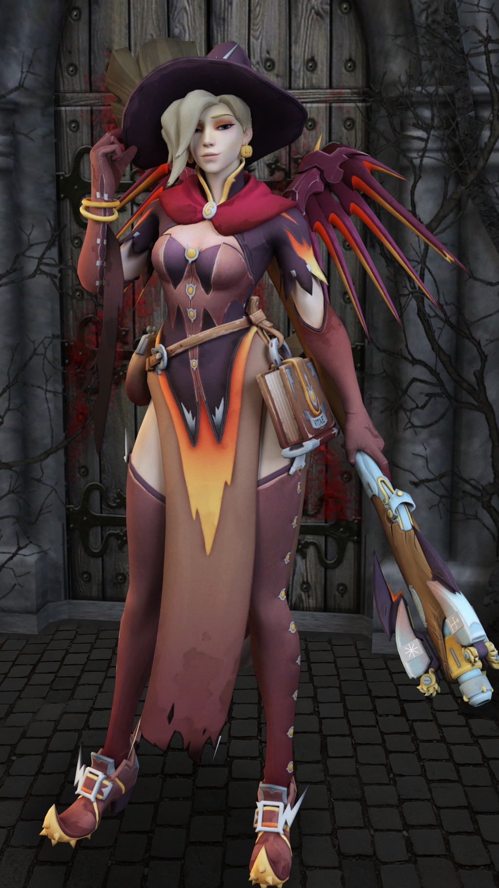 Mercy Witch by AthenaAsa on DeviantArt