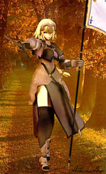 Jeanne D'Arc by AthenaAsa