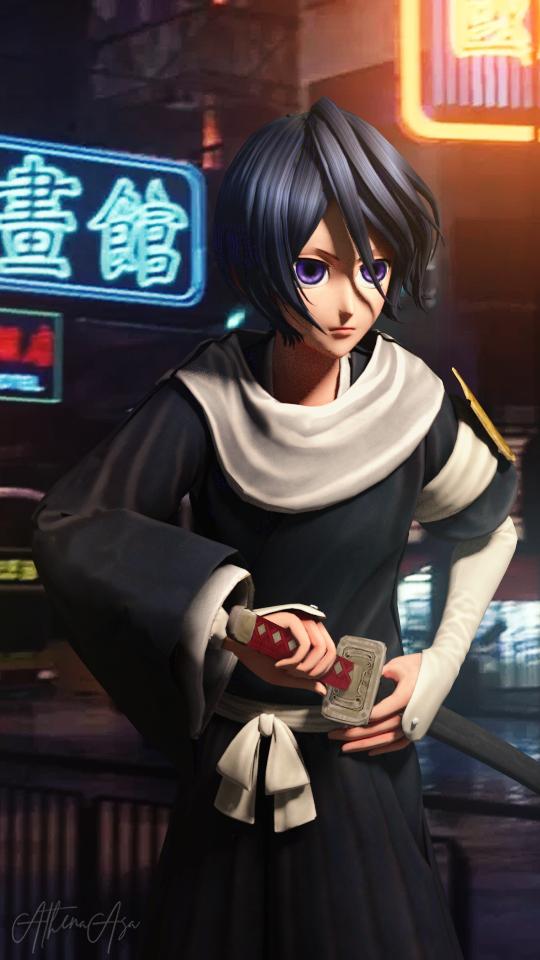 Rukia (Jump Force) by AthenaAsa