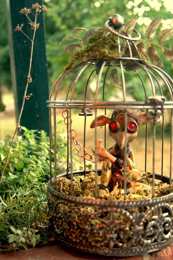 Caged Bog Sprite by MyrHansen