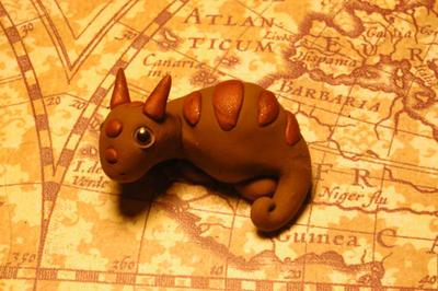 Baby Pygmy Dragon I by MyrHansen