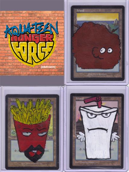 favorite character aqua teen hunger force