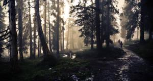 Magic Forest II by thoosah