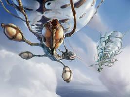 Sky crawler by ortheza