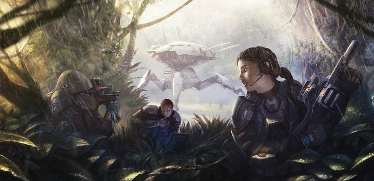 Jungle recon mission