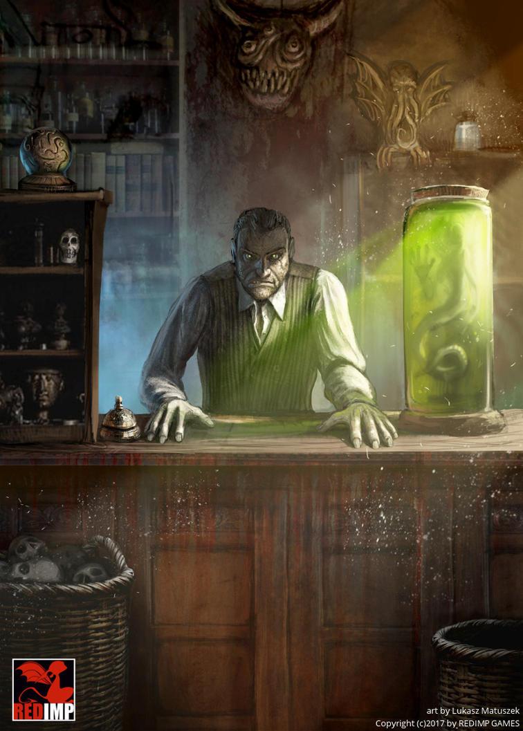 Shopkeeper by ortheza