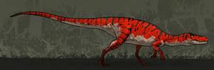 Dinosaurs of Planet Ark: Herrerasaurus