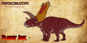 Dinosaurs of Planet Ark: Pentaceratops