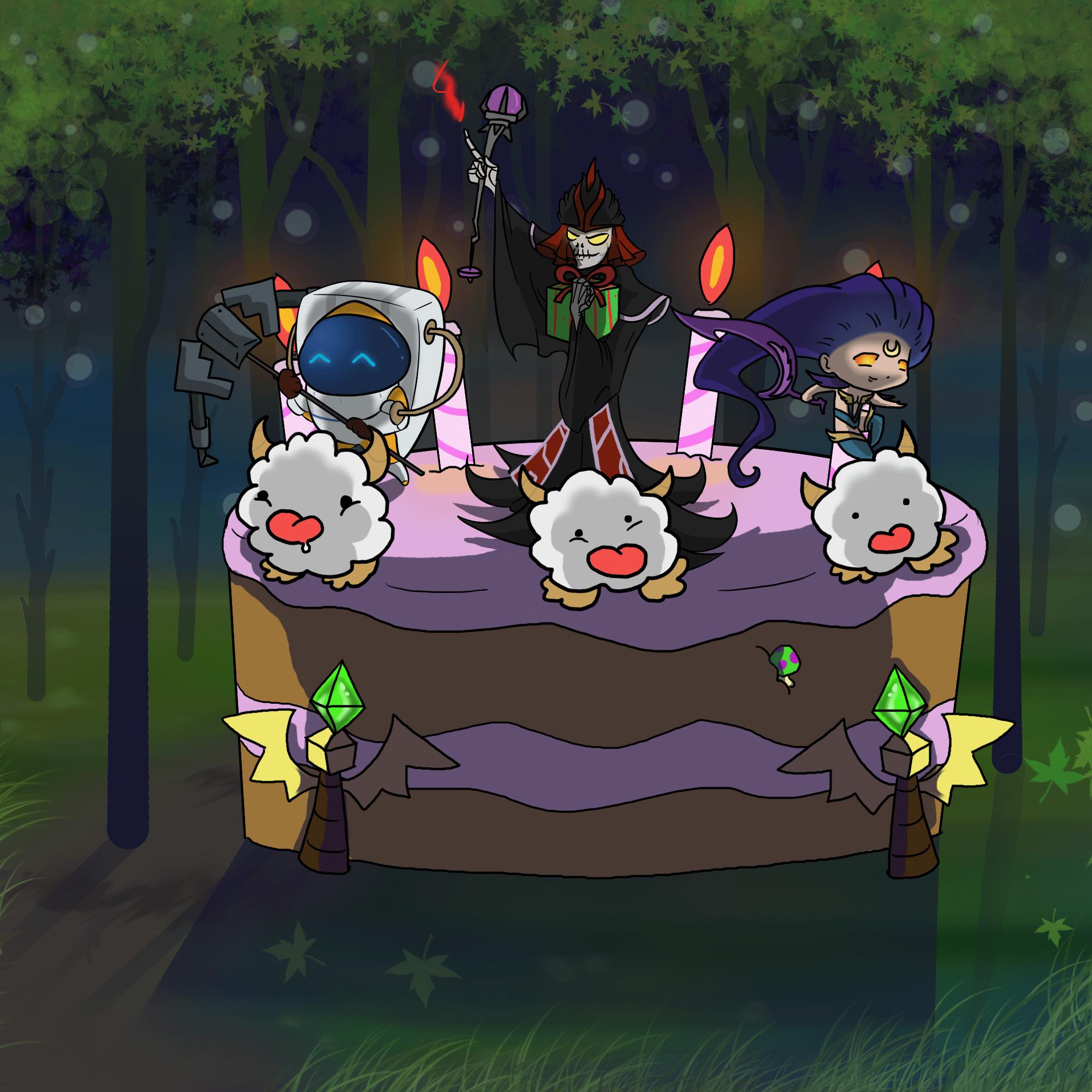 League Of Legends Happy Birthday Card Zwonzorg