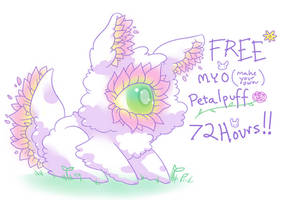EVENT CLOSED - FREE MYO Petalpuff by CloverWing