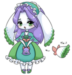 [OPEN] Adoptable Bunny Maid by CloverWing