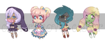 [OPEN] Chibi Adopt Batch by CloverWing