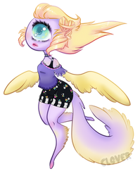 Winged Cyclops Final by CloverWing