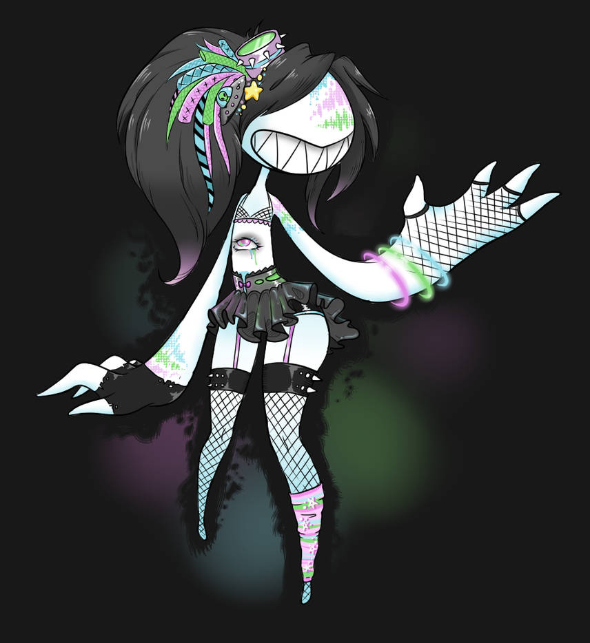 [CLOSED] Cybergoth Dentii Adopt by CloverWing