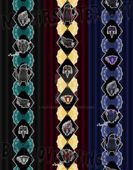 Tea Set Fabric Sample
