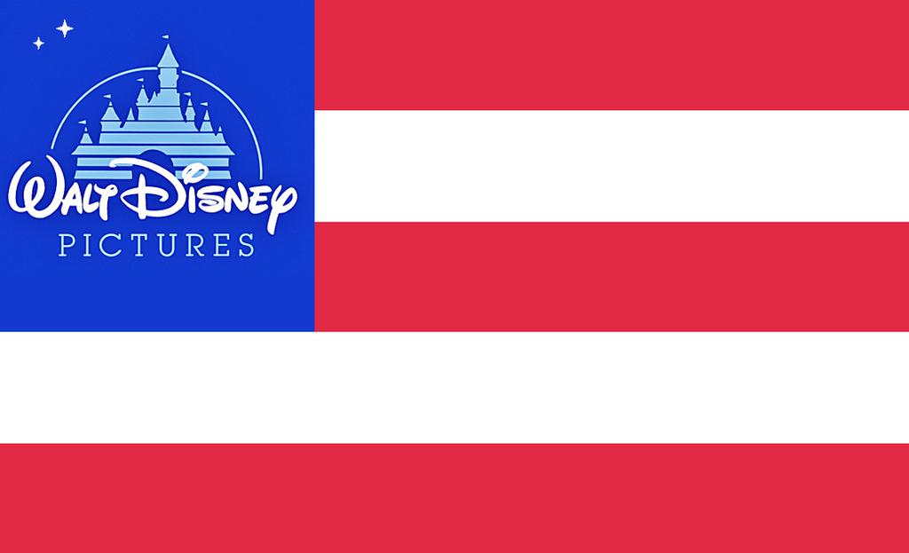 Walt Disney Flag by Drock625