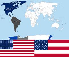 Sister Nations (Alternate History) by Drock625